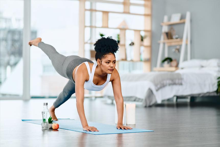 Tậo thể dục thế nào khi không thể đến phòng Gym?